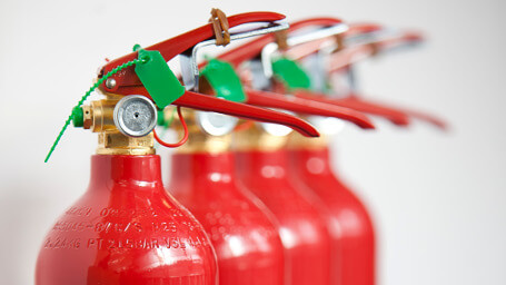 Fire extinguisher installation in York