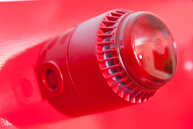 Fire alarm installation in York